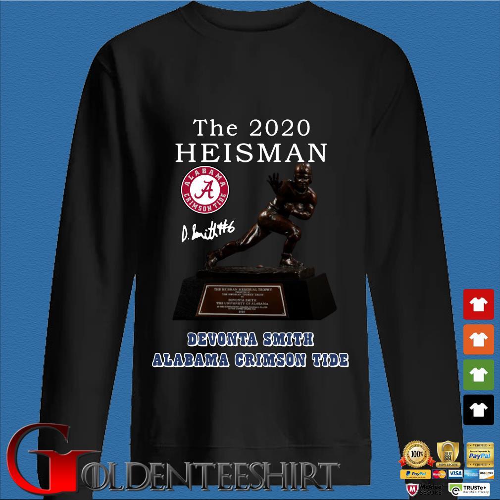 Alabama Crimson Tide the 2030 heisman devonta smith signature Shirt Den Sweater