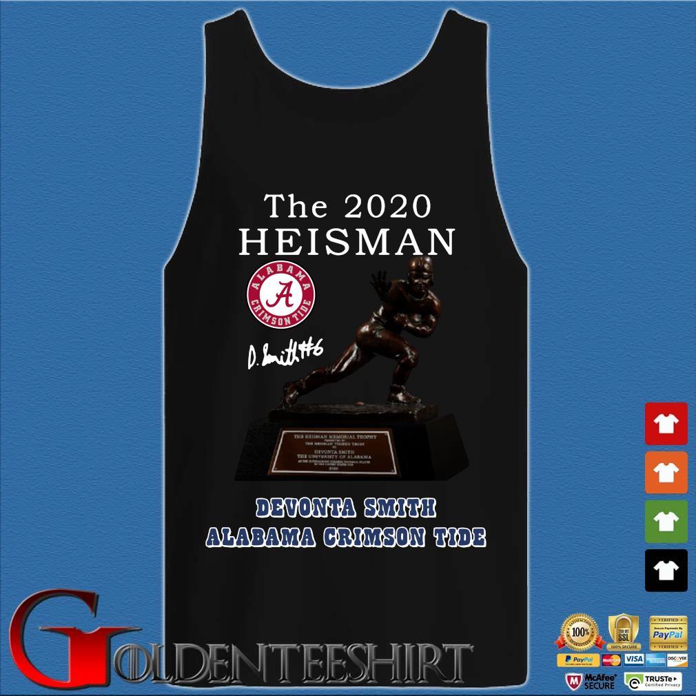 Alabama Crimson Tide the 2030 heisman devonta smith signature Shirt Tank top den