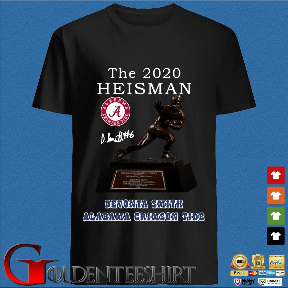 Alabama Crimson Tide the 2030 heisman devonta smith signature Shirt