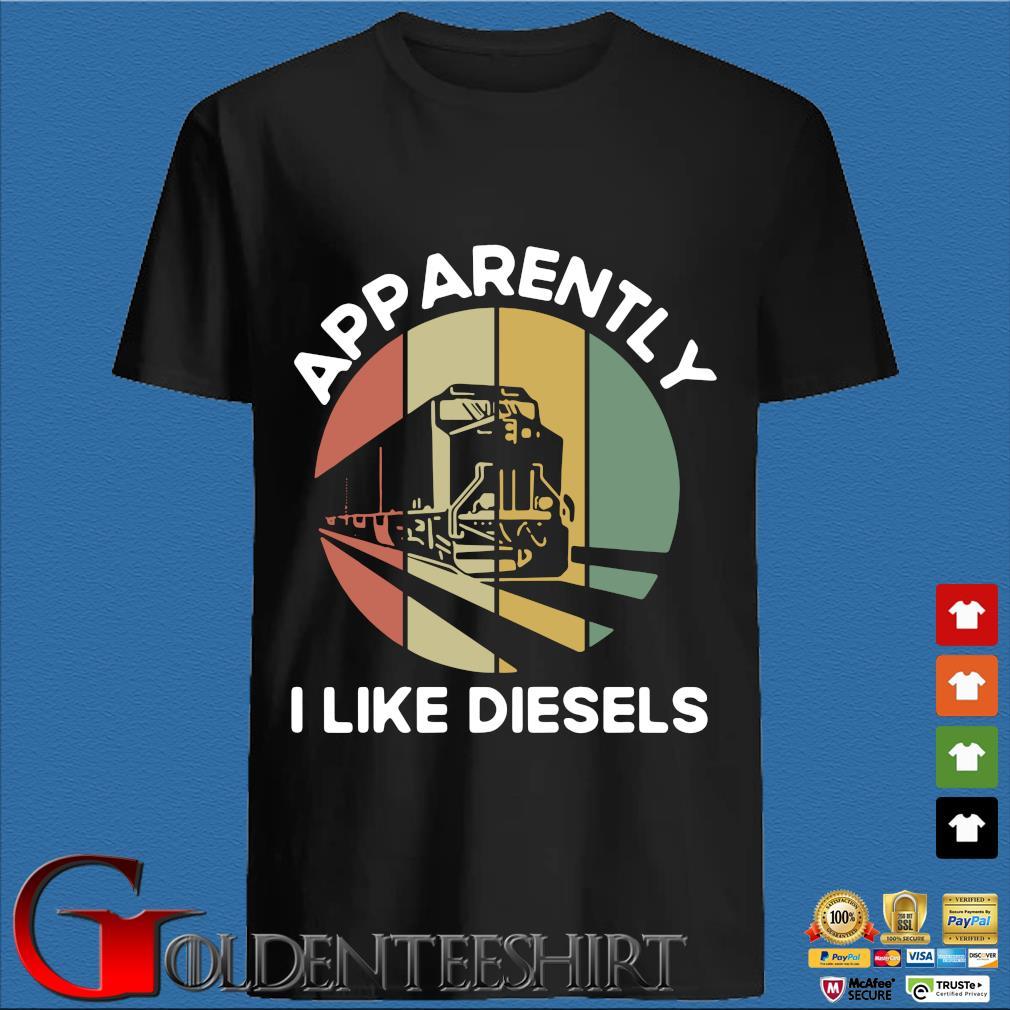 Apparently I like diesels vintage s den Shirt
