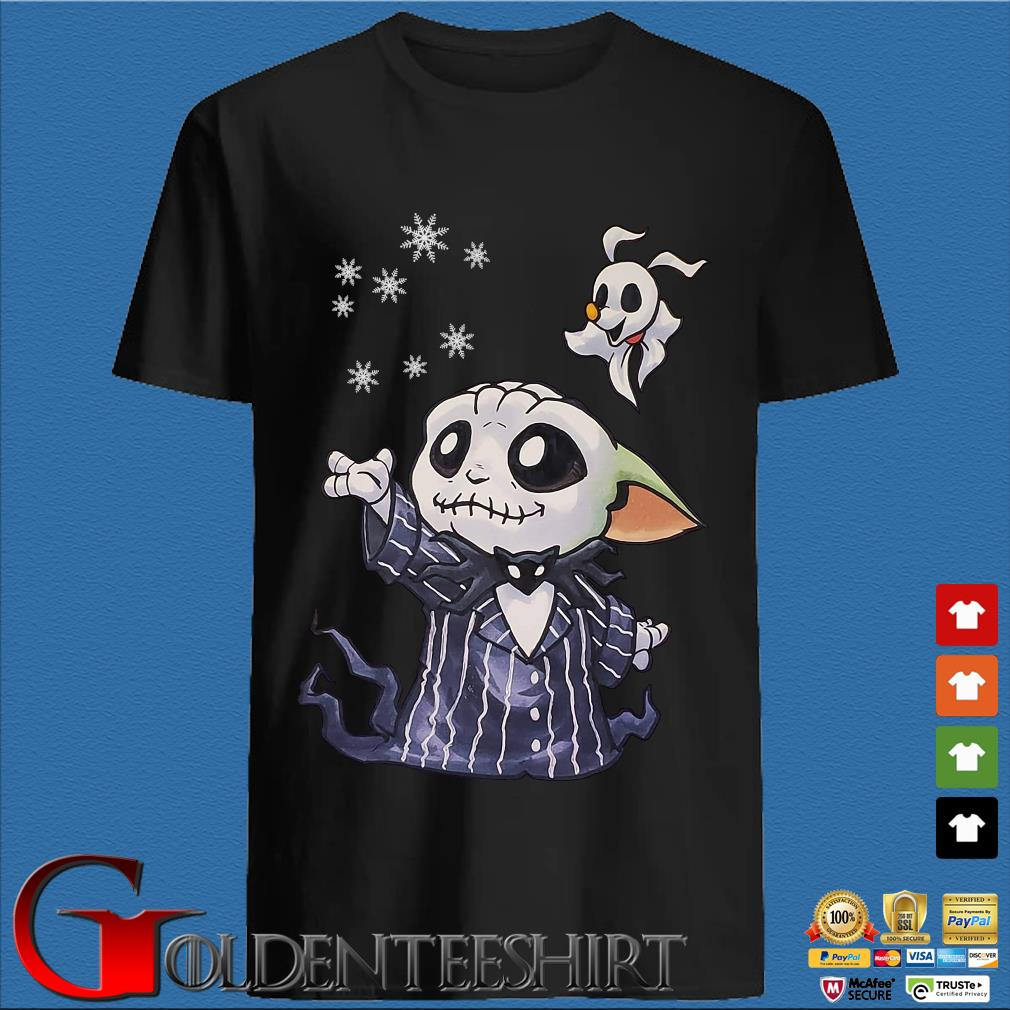 Baby Jack Skellington Yoda shirt