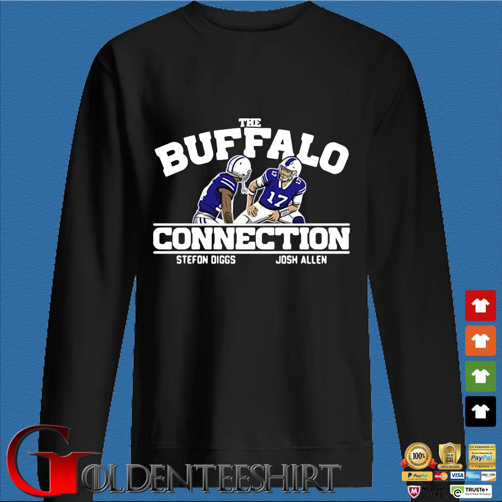 Buffalo Bills connection Stefon Diggs Josh Allen s Den Sweater