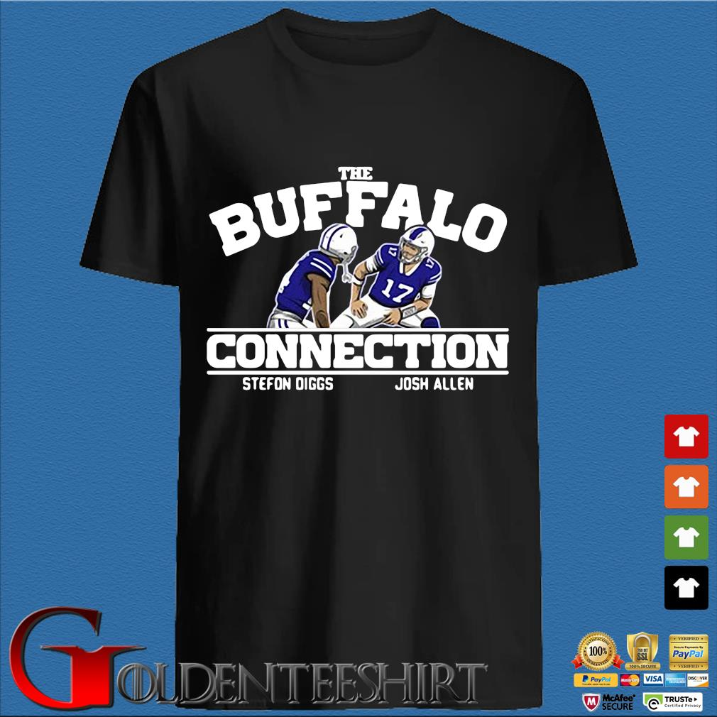 Buffalo Bills connection Stefon Diggs Josh Allen shirt
