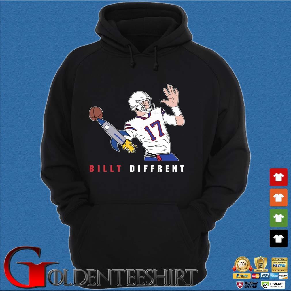 Buffalo Bills Josh Allen billt different s Hoodie đen