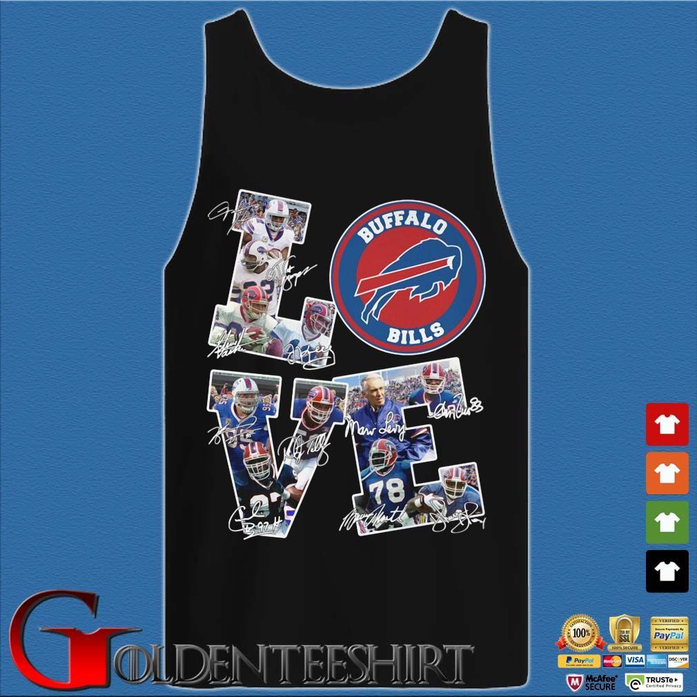 Buffalo Bills Love Signatures Shirt Tank top den