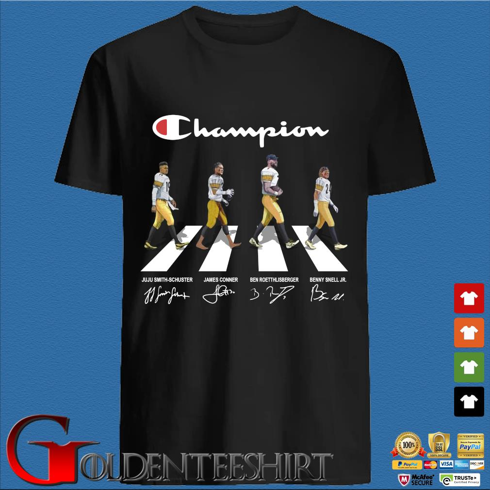 Champion Juju Smith-Schuster James Conner Ben Roethlisberger Abbey Road Signatures Shirt