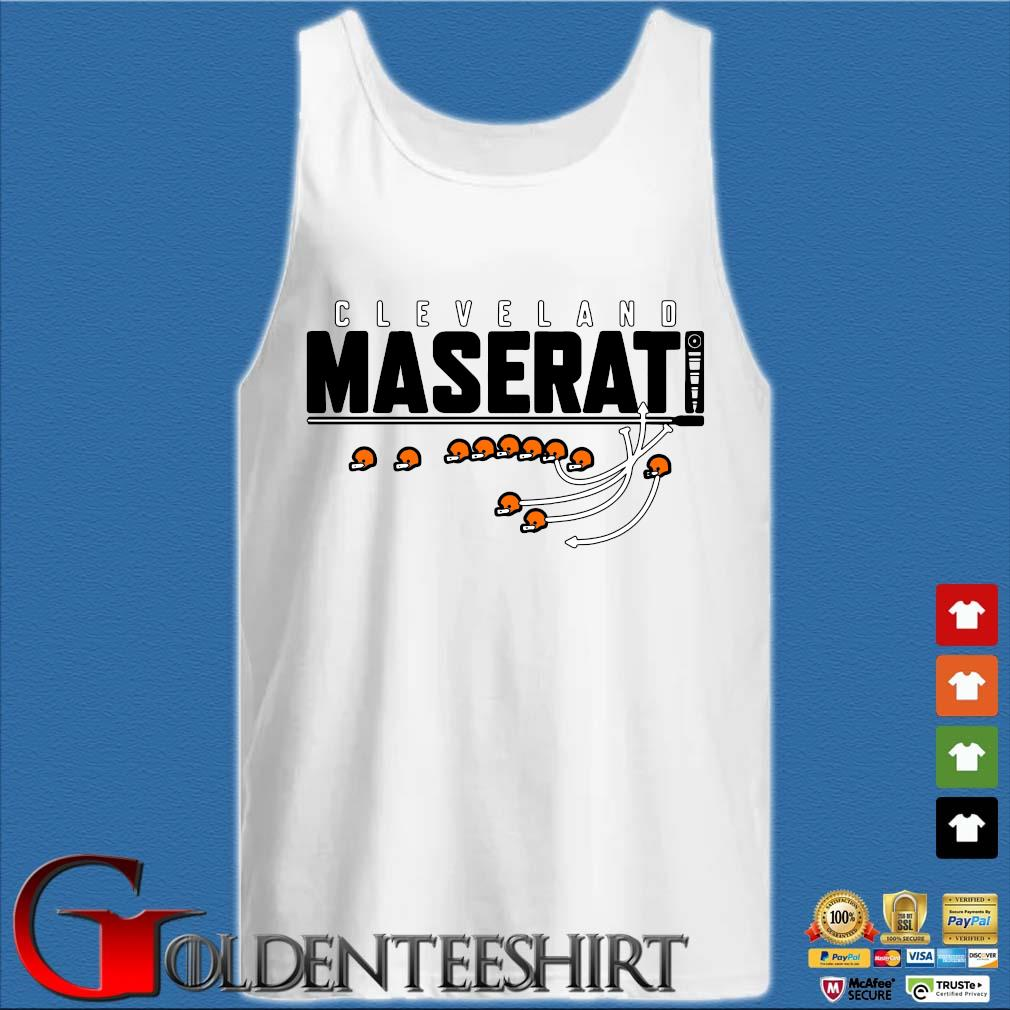 Cleveland maserati s Tank top trắng