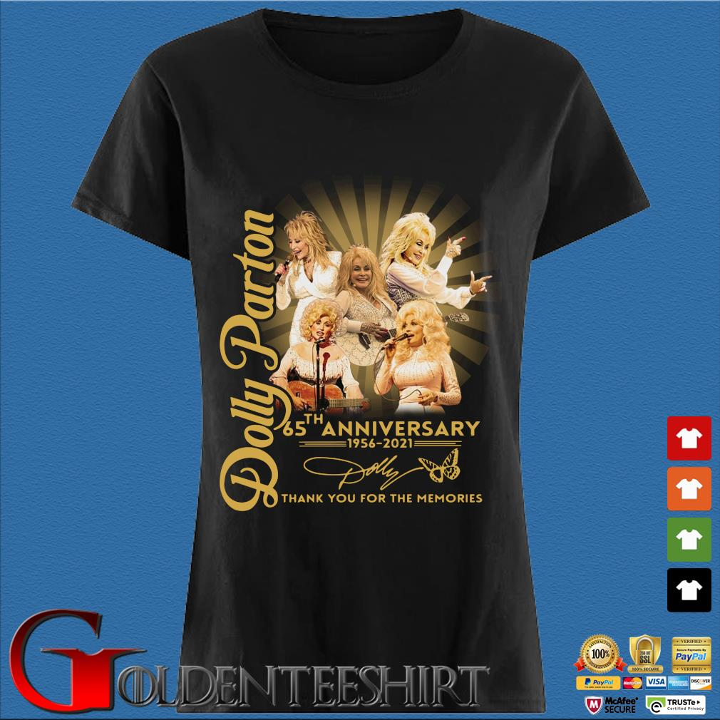 Dolly Parton 65th anniversary 1956-2021 thank you for the memories signature s Den Ladies