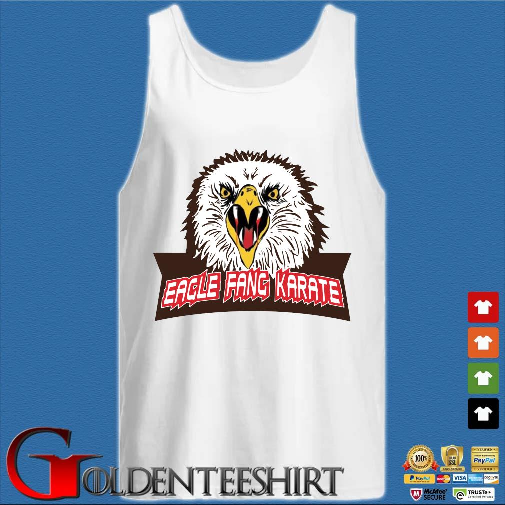 Eagle fang karate s Tank top trắng