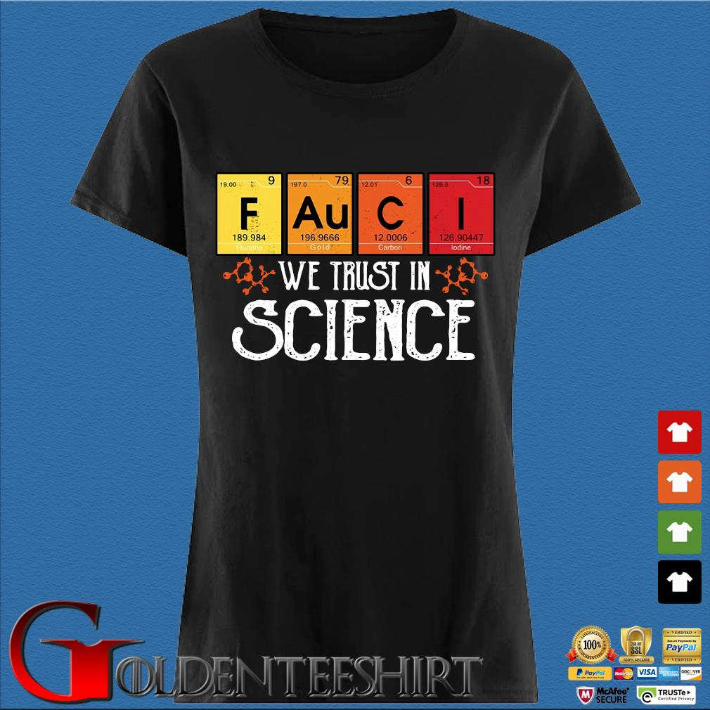 Fauci we trust in science s Den Ladies