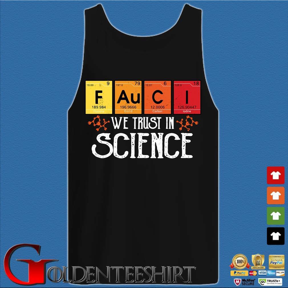 Fauci we trust in science s Tank top den