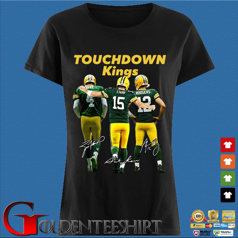 Green Bay Packers touchdown Kings signatures s Den Ladies