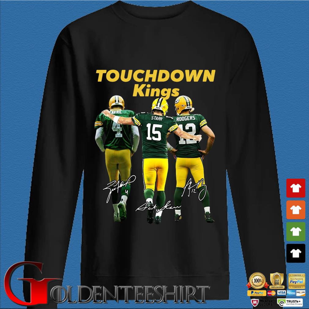 Green Bay Packers touchdown Kings signatures s Den Sweater