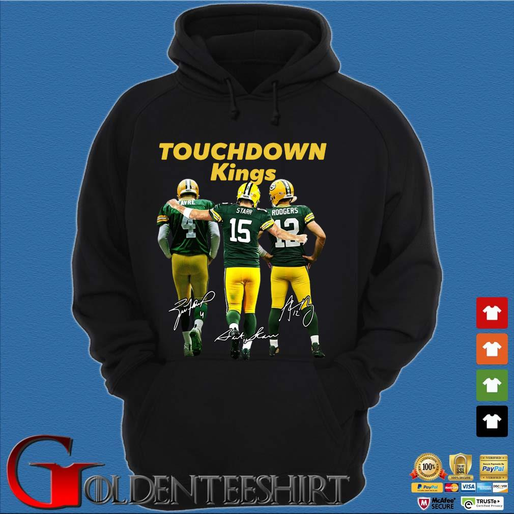 Green Bay Packers touchdown Kings signatures s Hoodie đen