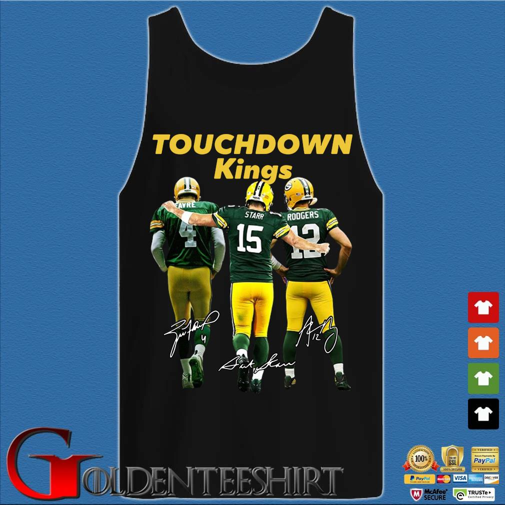 Green Bay Packers touchdown Kings signatures s Tank top den