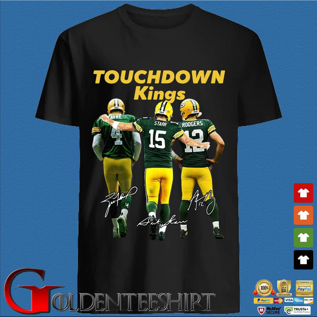 Green Bay Packers touchdown Kings signatures shirt