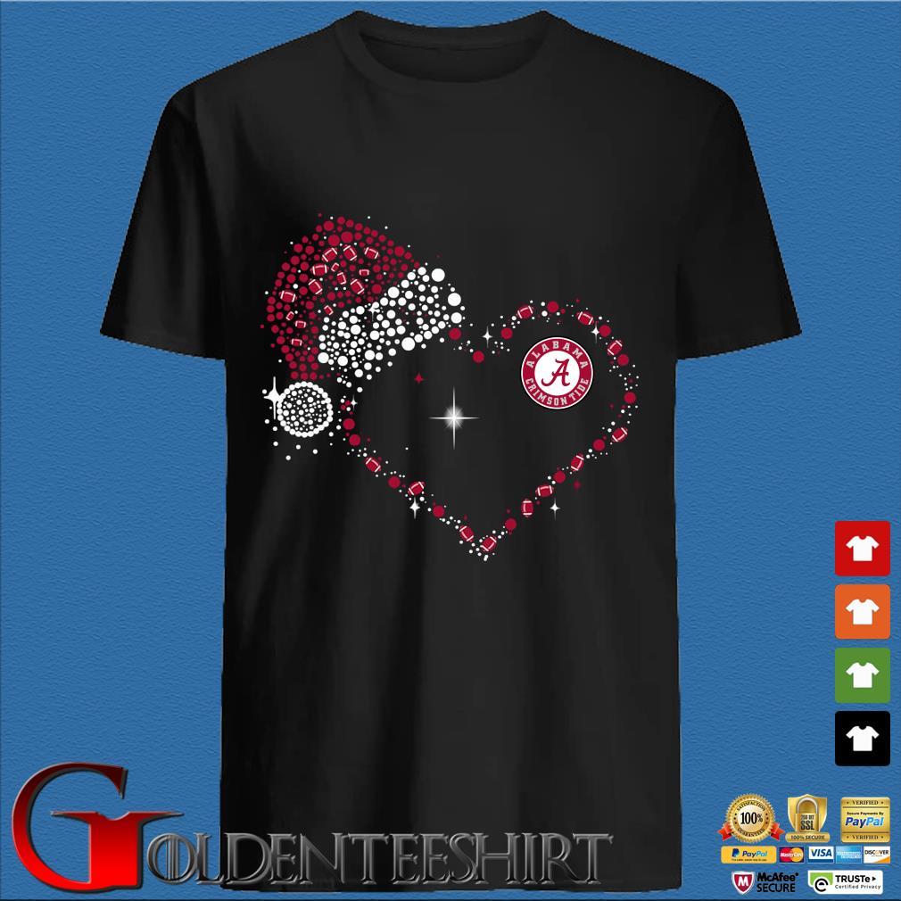 Heart Alabama Crimson Tide Diamond shirt