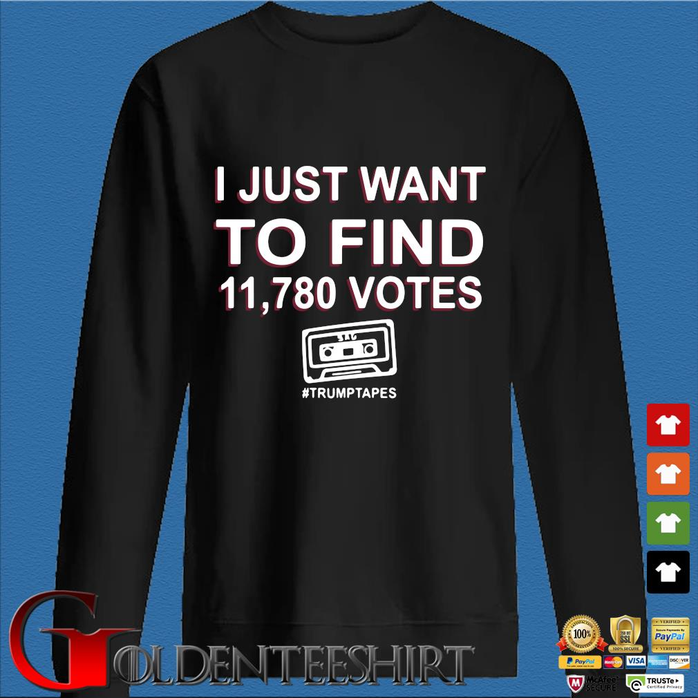 I just want to find 11.780 votes #Trumptapes s Den Sweater