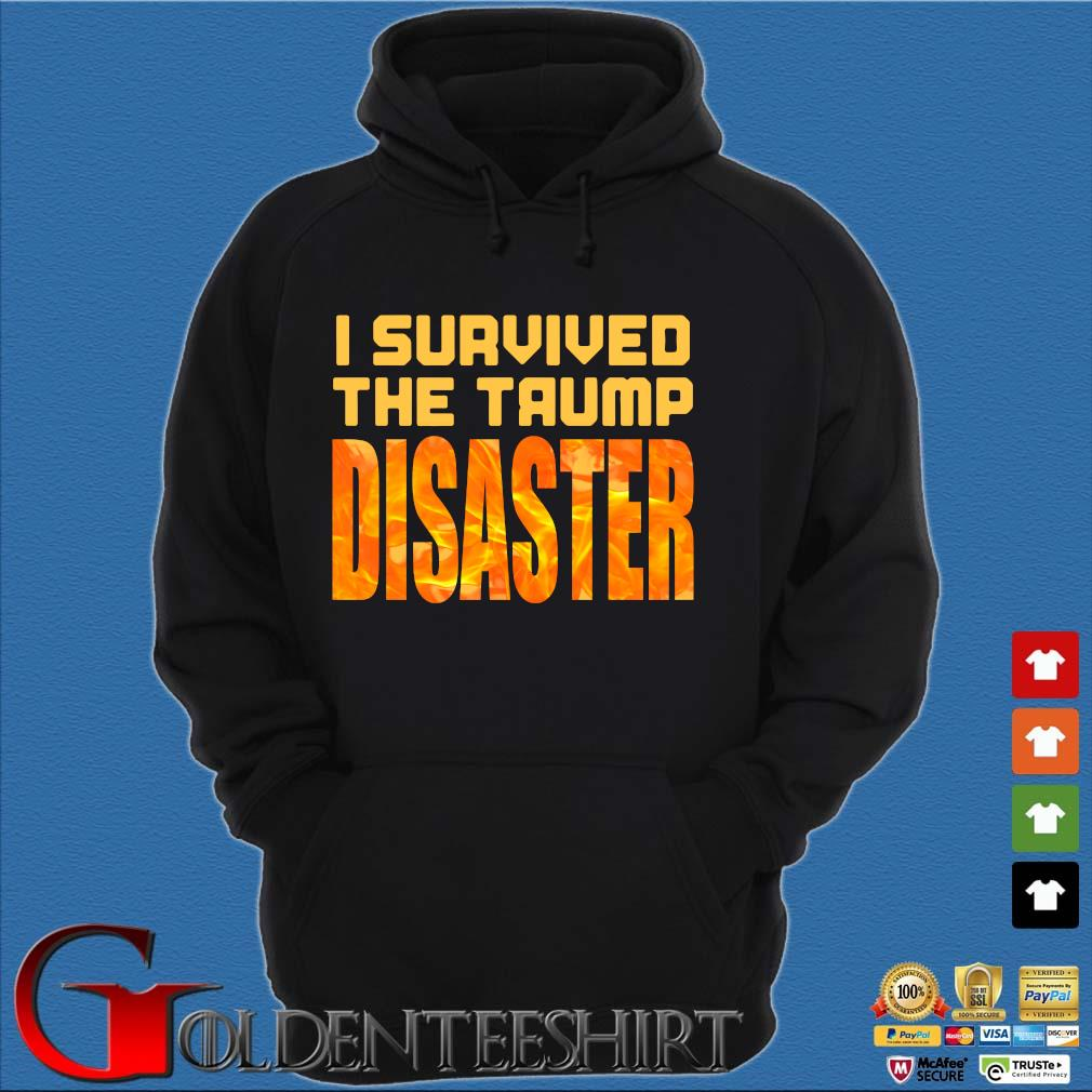 I Survived The Trump Disaster Election Shirt Hoodie đen