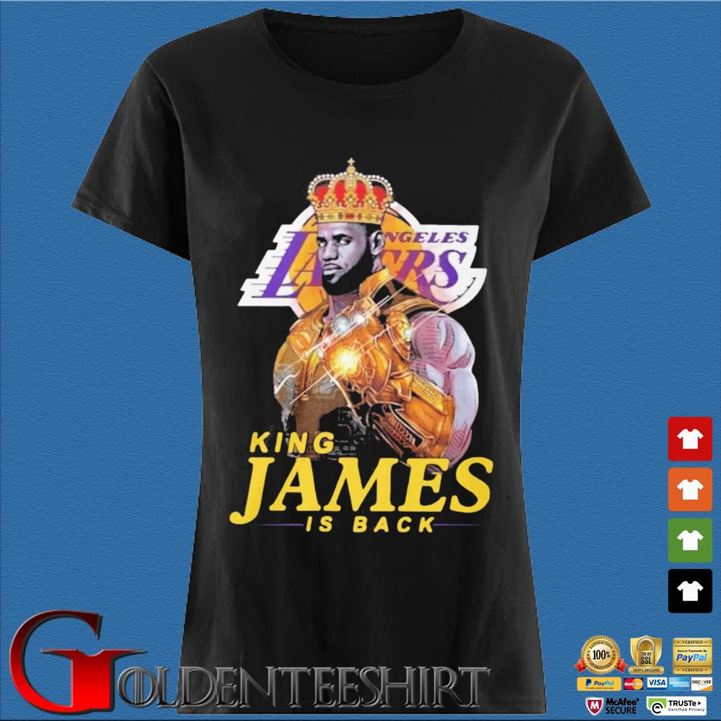 King James Thanos Los Angeles Lakers is back s Den Ladies