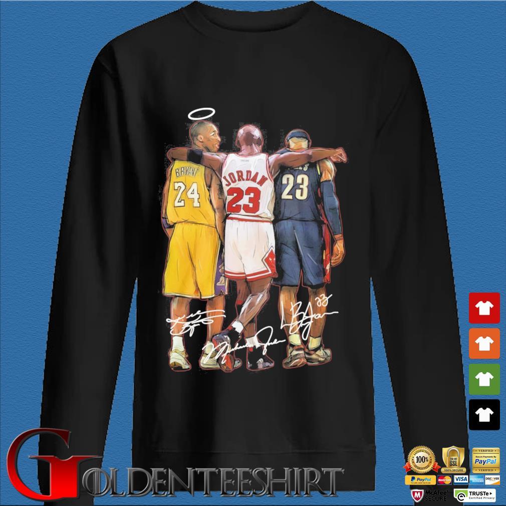 Kobe Bryant Michael Jordan Lebron James signatures s Den Sweater