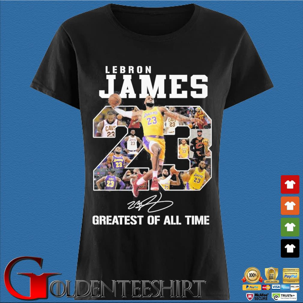 Lebron James 23 greatest of all time signature s Den Ladies