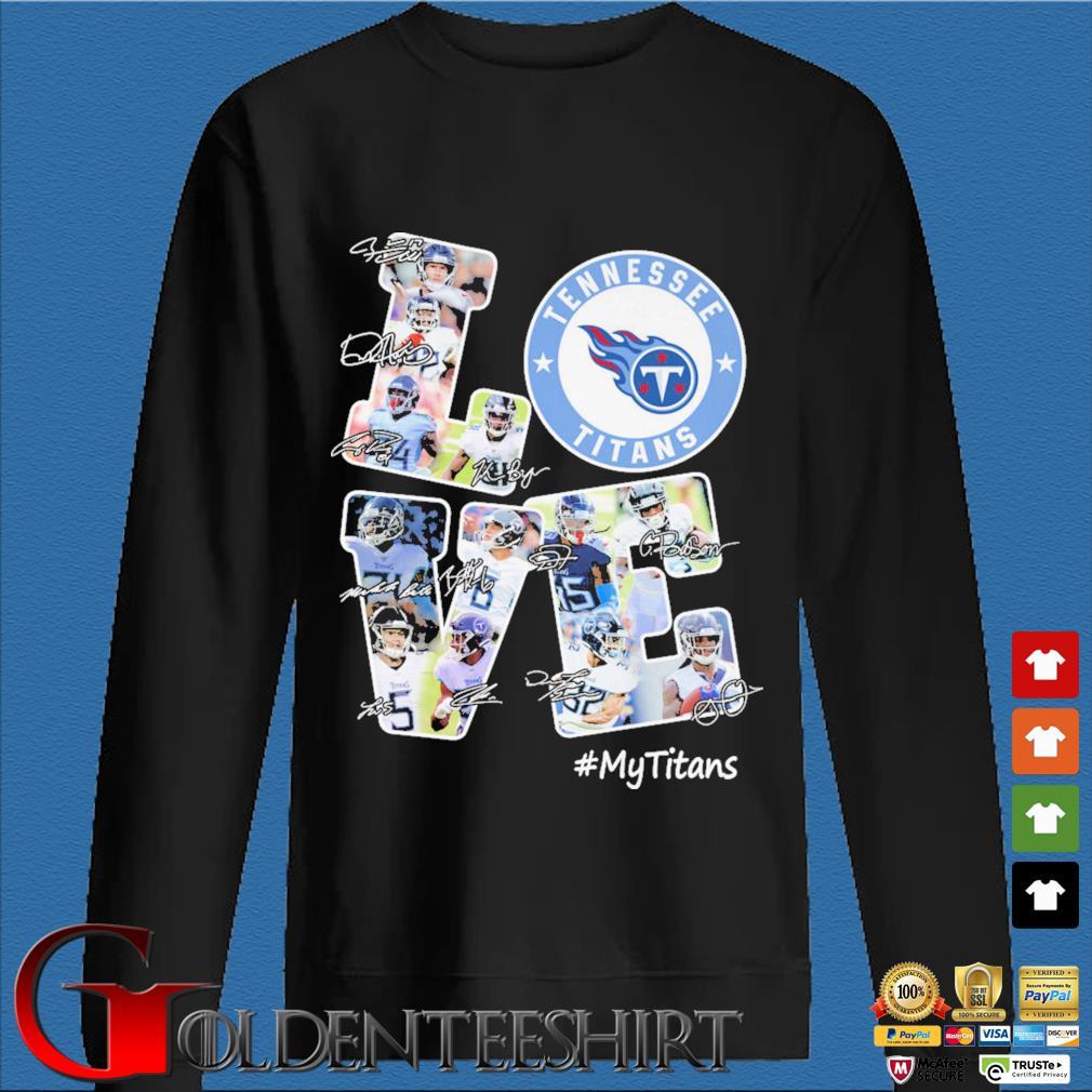 Love Tennessee Titans #Titans signatures s Den Sweater