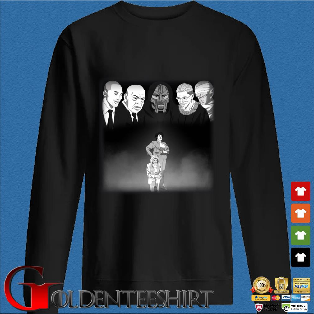Mf Doom Kobe Rbg And John Lewis Looking Down Stacey Abrams Shirt Den Sweater