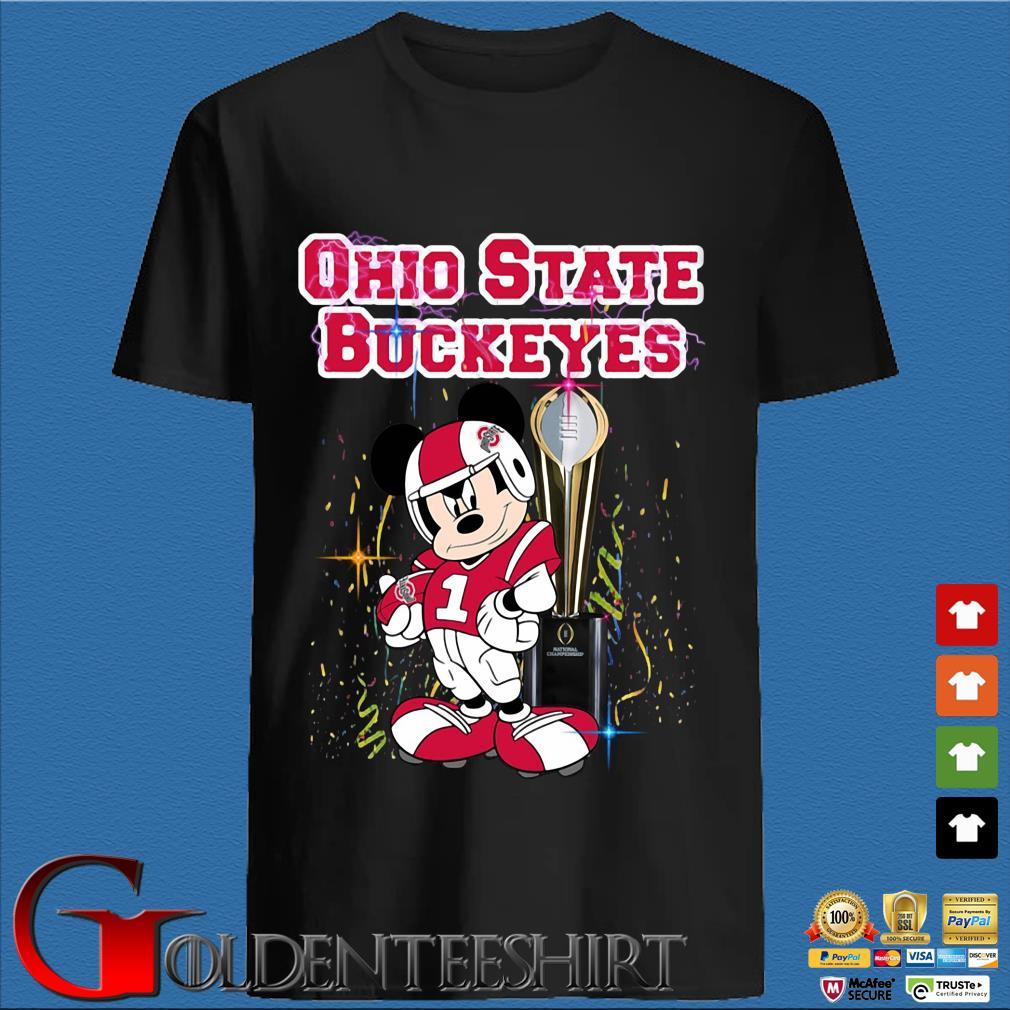 Mickey Mouse Ohio State Buckeyes Won shirt