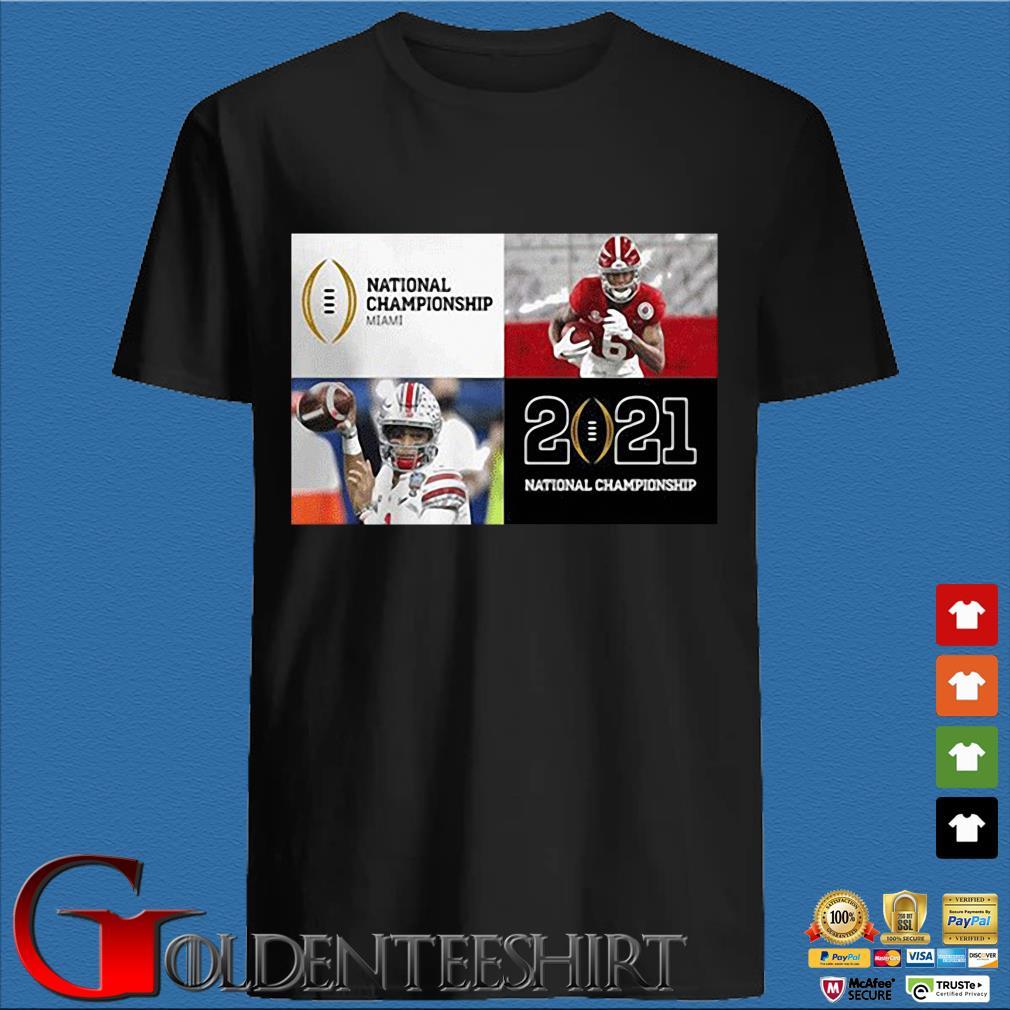 National Championship MIami 2021 National Championship shirt