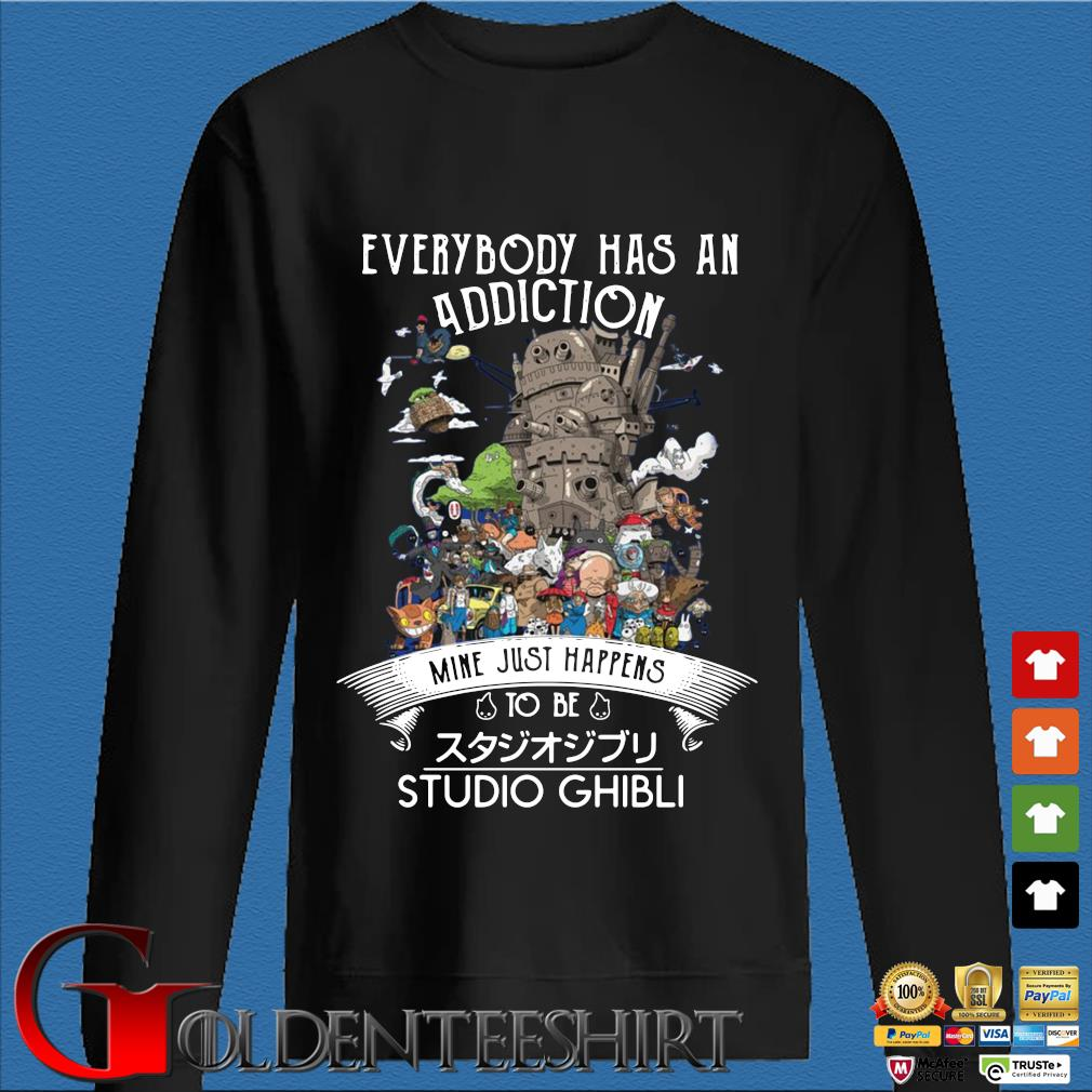 Official everybody has an addiction mine just happens to be Studio Ghibli s Den Sweater