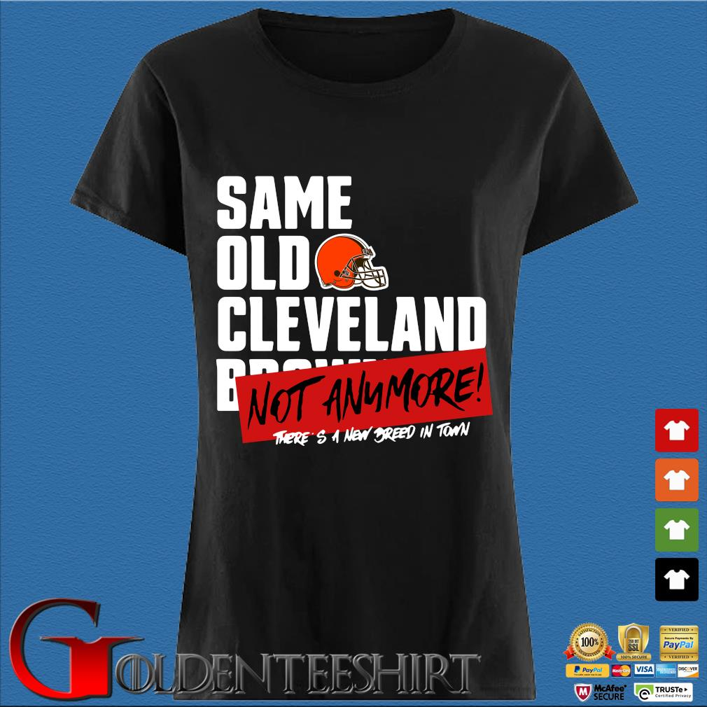 Official same old Cleveland Browns not anymore there's a new breed in town s Den Ladies