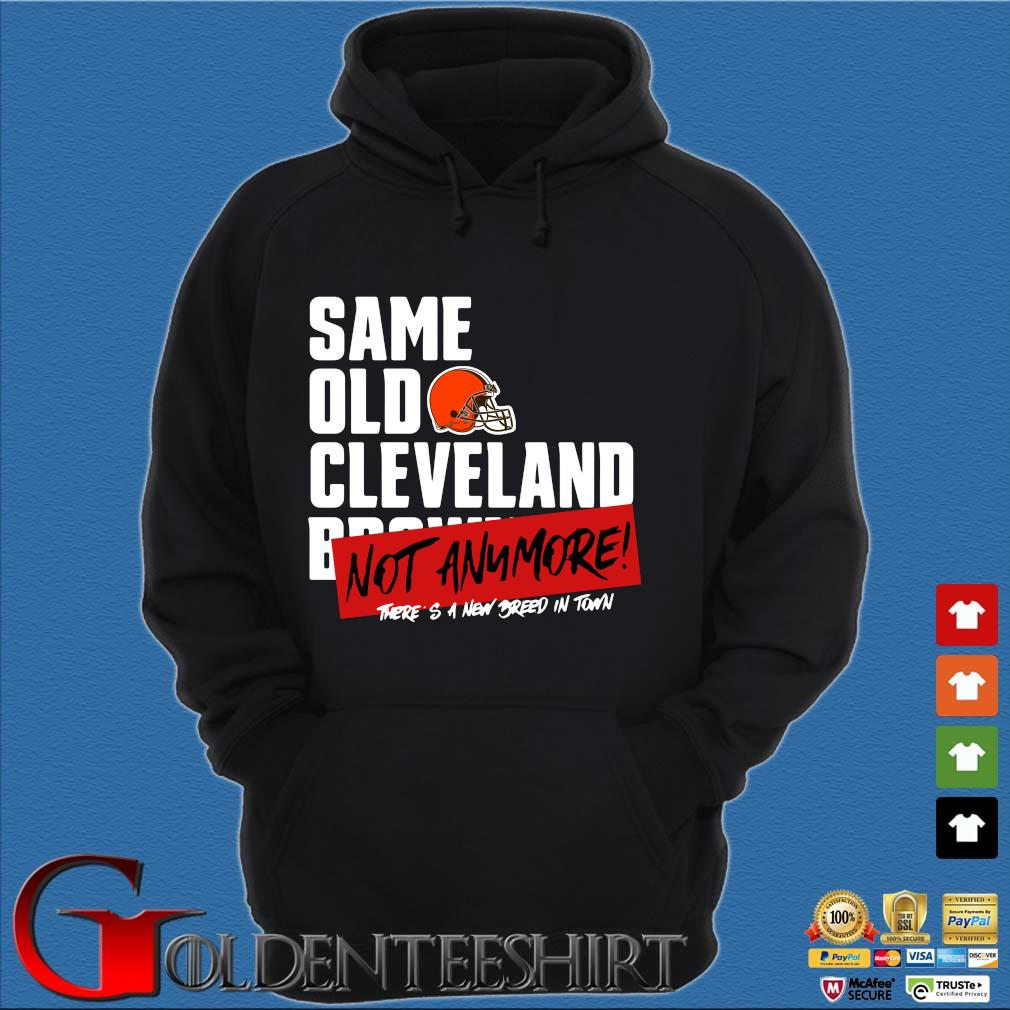Official same old Cleveland Browns not anymore there's a new breed in town s Hoodie đen