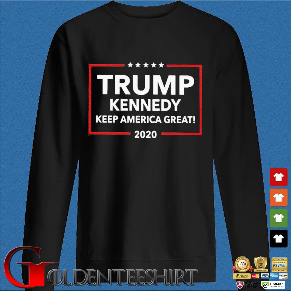 Official Trump Kennedy Keep America Great 2020 Shirt Den Sweater