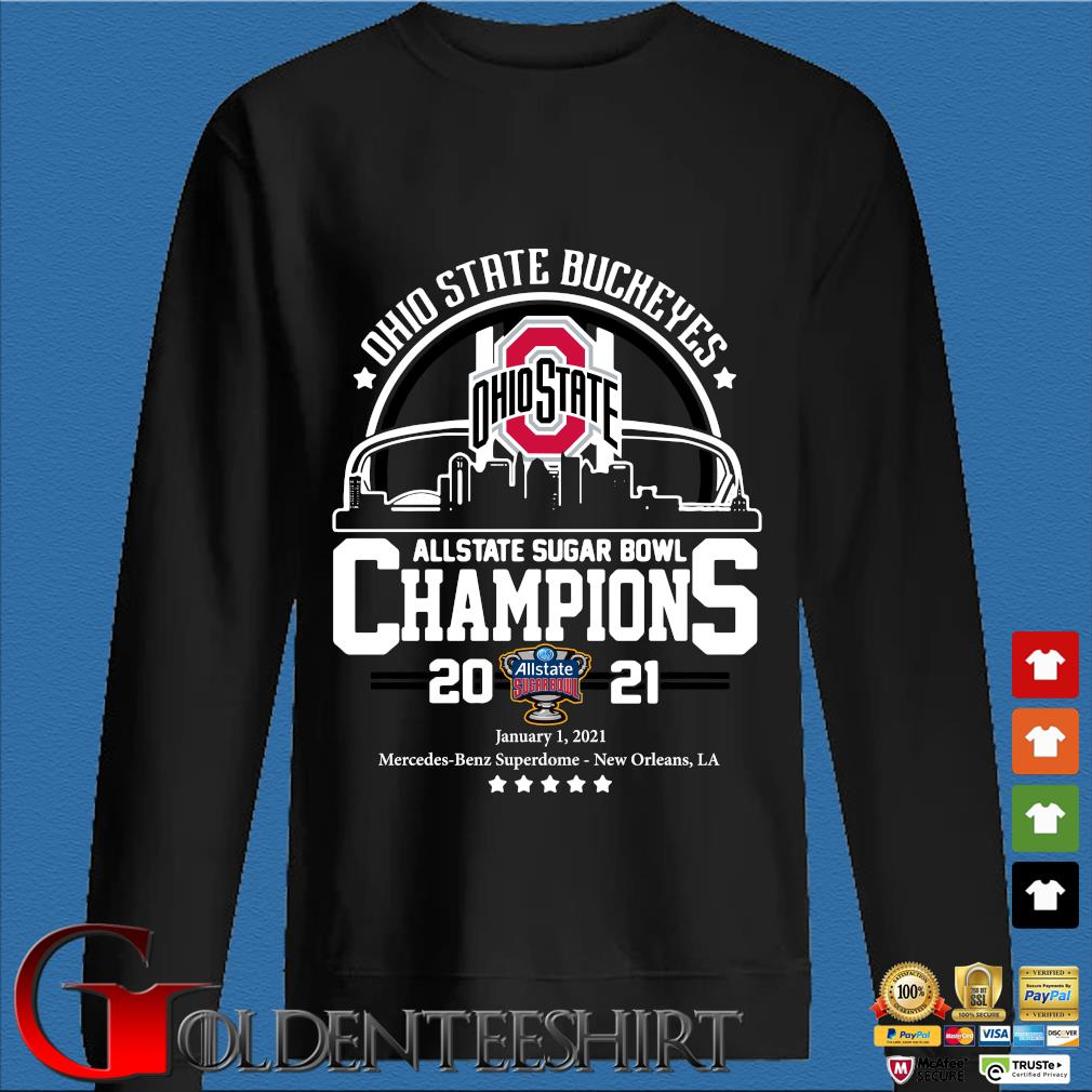 Ohio State Buckeyes allstate sugar bowl Champions 2021 s Den Sweater