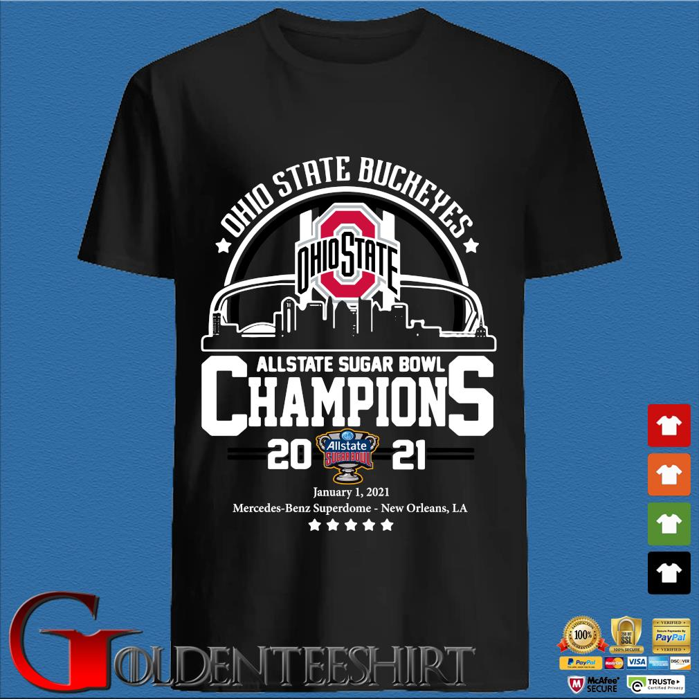 Ohio State Buckeyes allstate sugar bowl Champions 2021 shirt