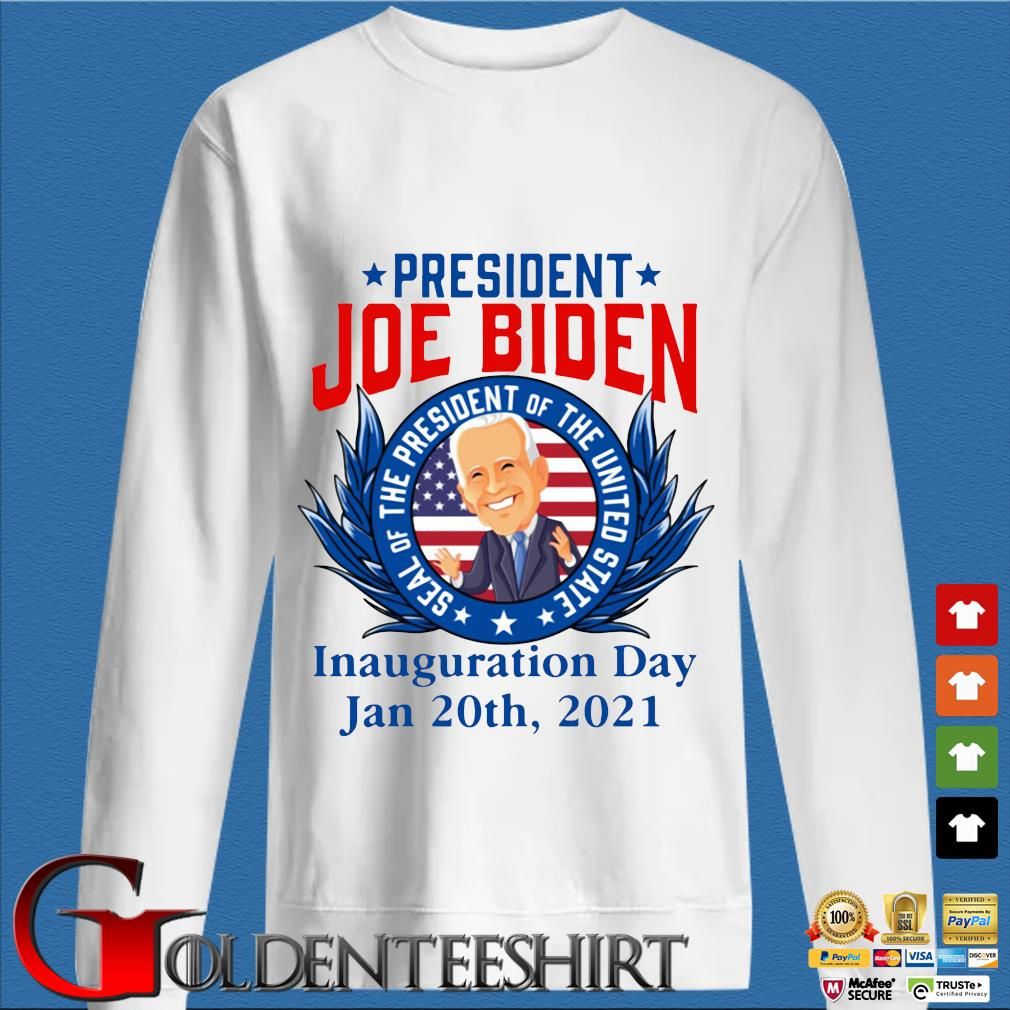 President Joe Biden seal of the President of the united state inauguration day jan 20th 2021 s trang Sweater
