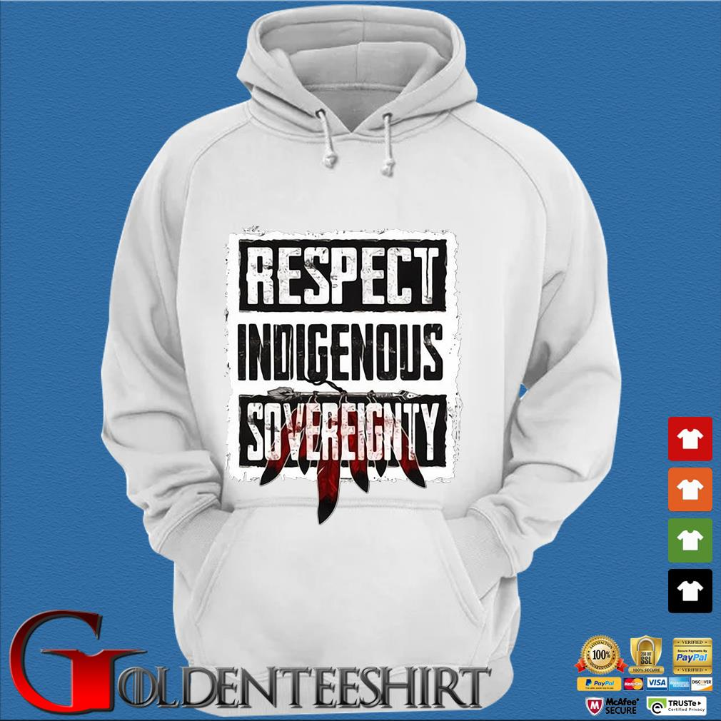 Respect indigenous sovereignty s Trang Hoodie