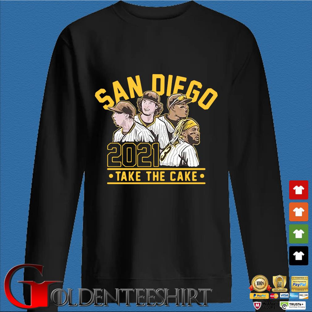 San Diego 2021 take the cake s Den Sweater