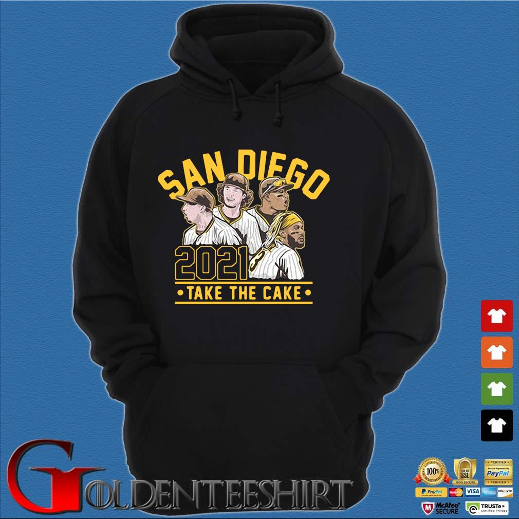 San Diego 2021 take the cake s Hoodie đen