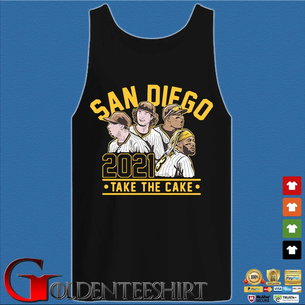San Diego 2021 take the cake s Tank top den