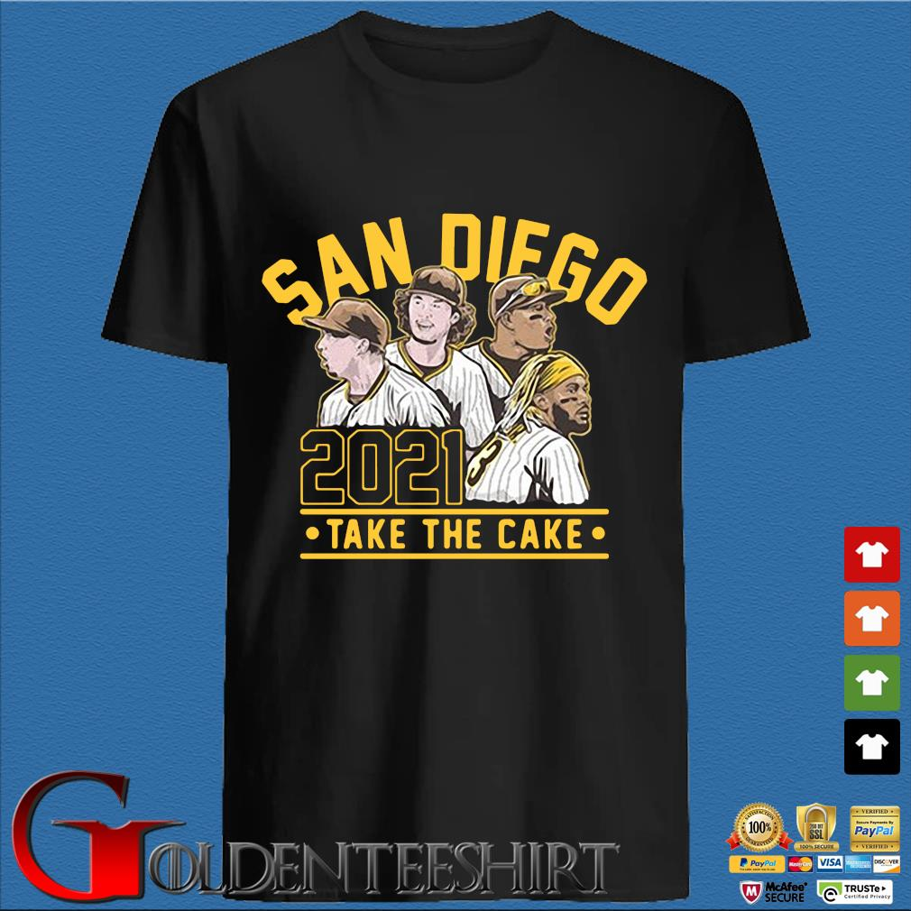 San Diego 2021 take the cake shirt