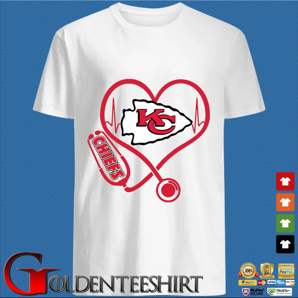 stethoscope Kansas City Chiefs shirt