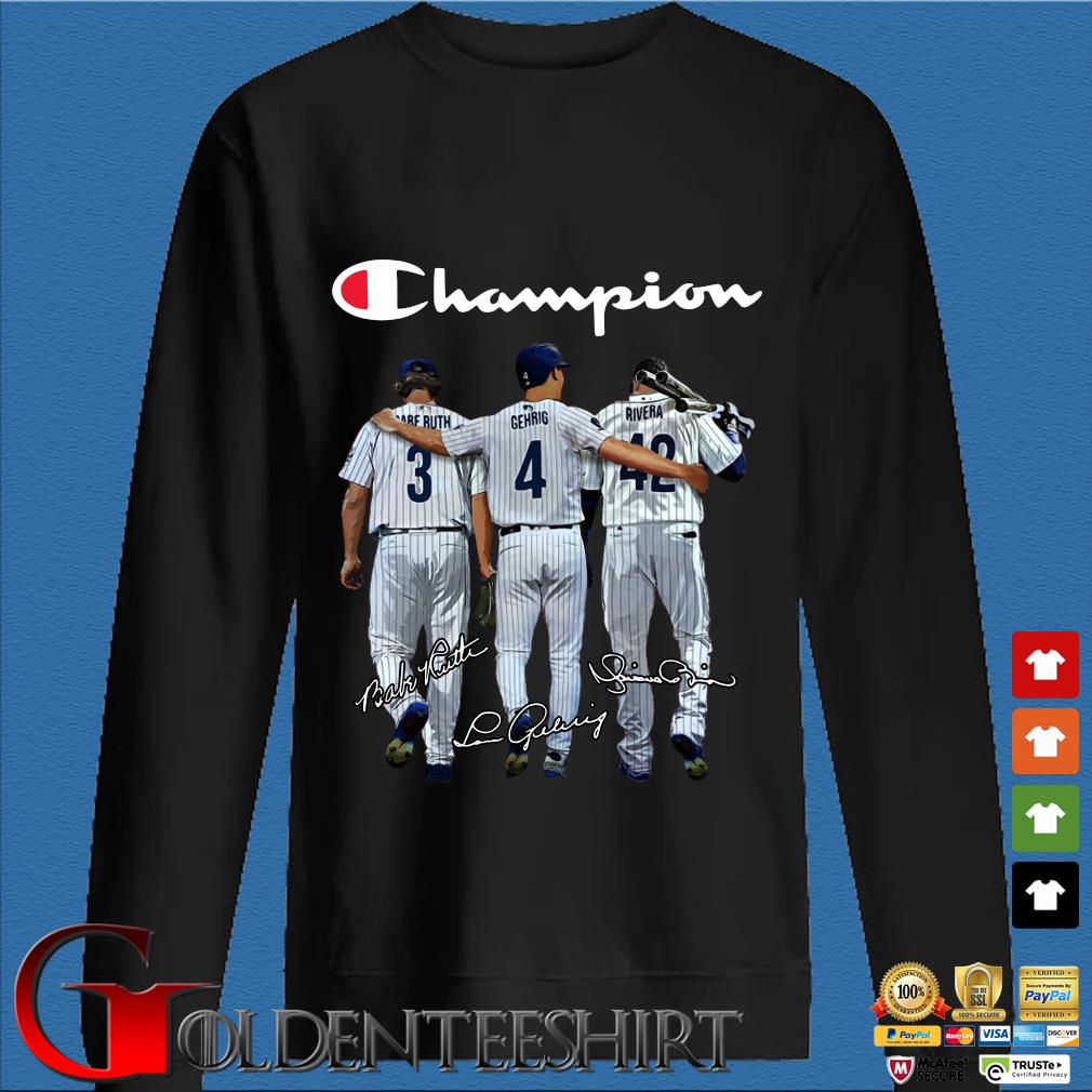 Tampa Bay Rays Champion Ruth Gehrig Rivera signatures s Den Sweater