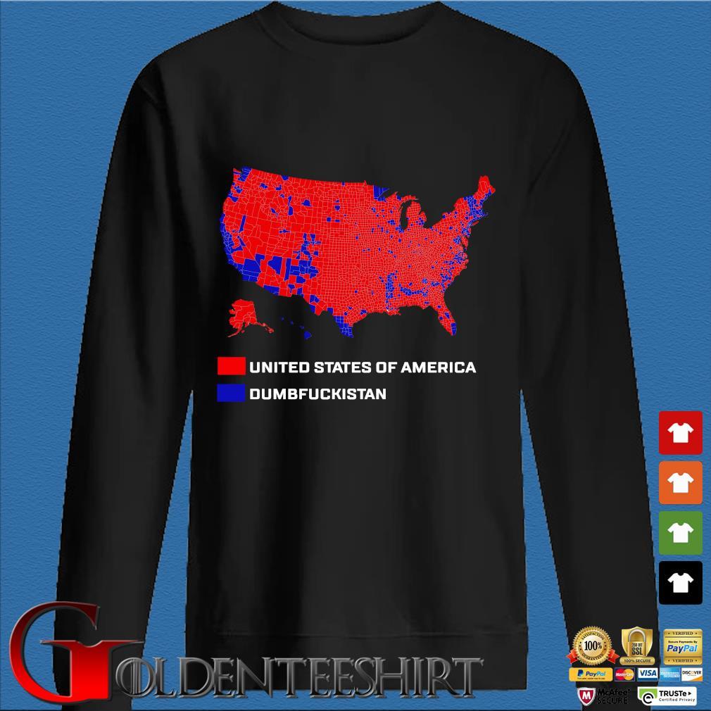 United States Of America Dumbfuckistan Shirt Den Sweater