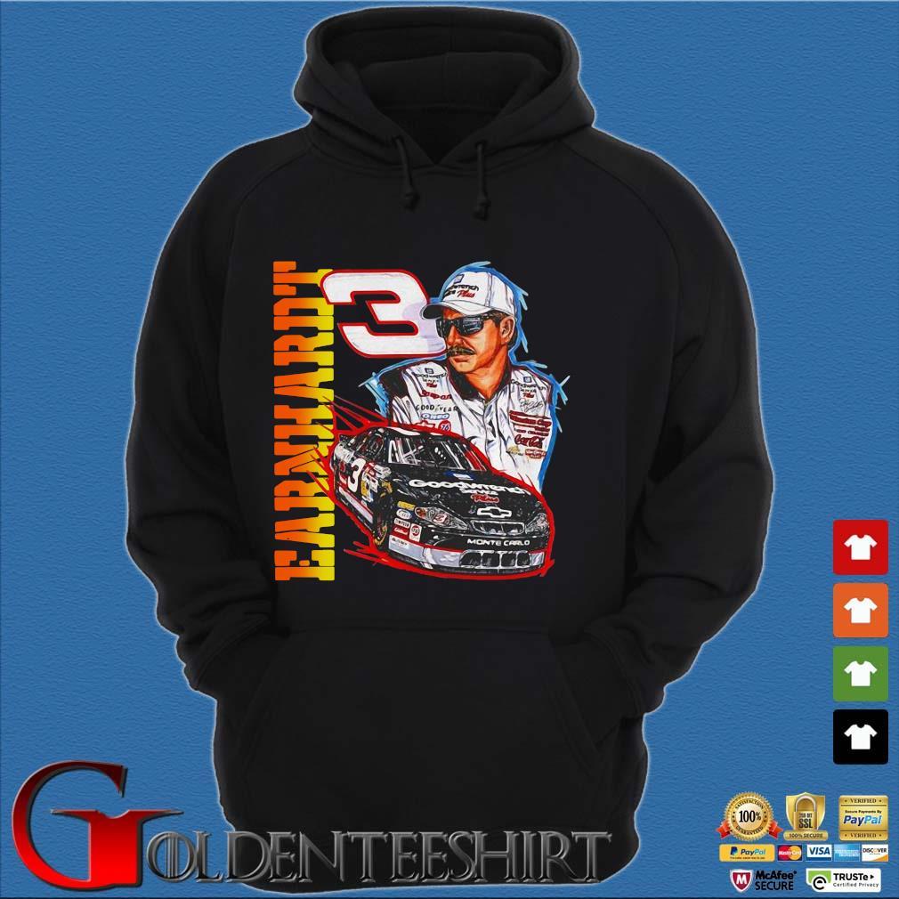 Vintage 90s Dale Earnhardt Nascar s Hoodie đen