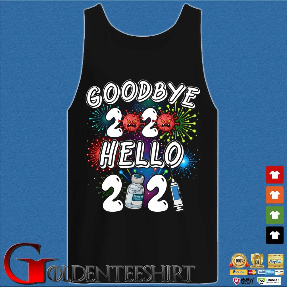 Viruscorona goodbye 2020 hello 2021 s Tank top den