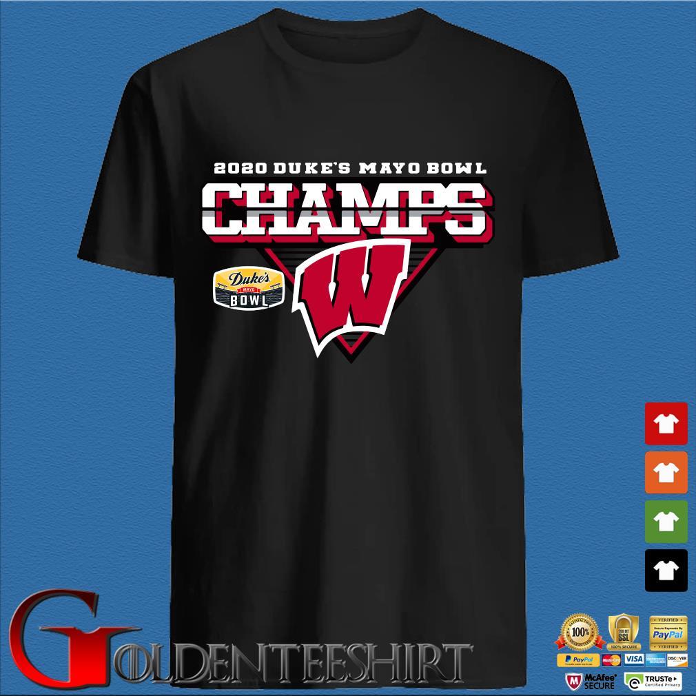 Wisconsin Badgers 2020 Duke's Mayo Bowl Champions Shirt