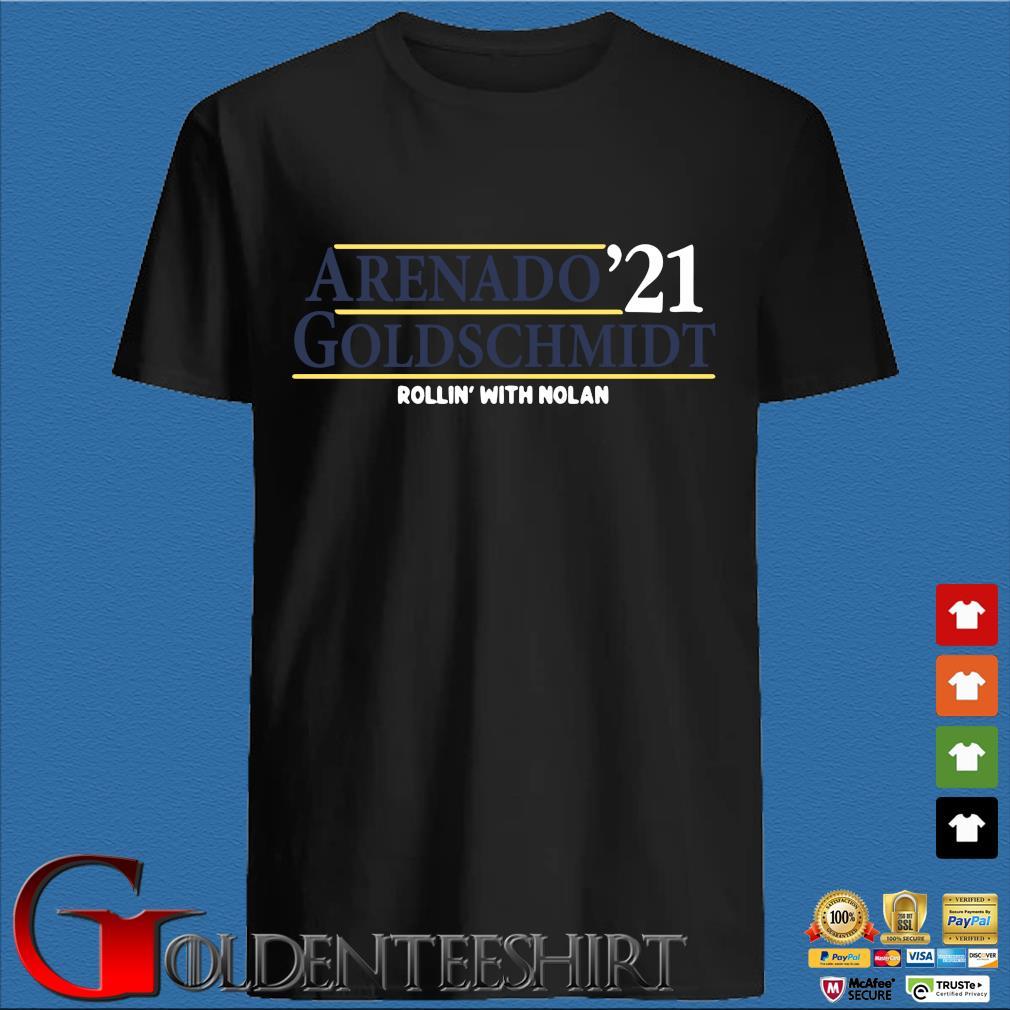 Arenado '21 goldschmidt rollin' with nolan shirt