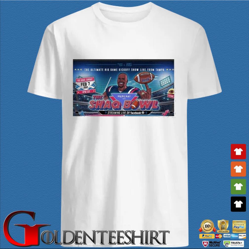 The Ultimate Big Game Kickoff Show Live From Tampa Mercari The Shaq Bowl Shirt